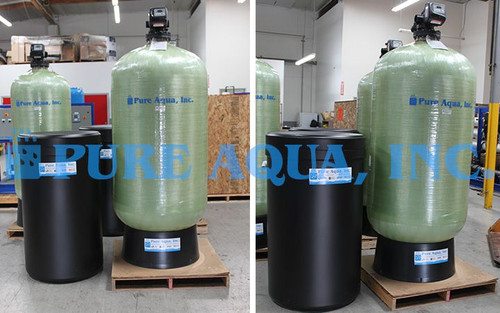 Commercial Water Softener 126,720 GPD - Jamaica