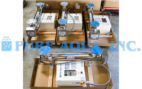 Industrial Ultraviolet Sterilizer 4 x 500 GPM - USA