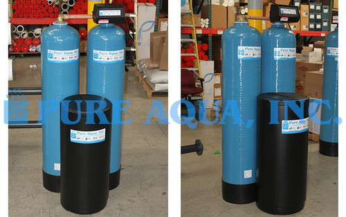 Alternating Water Softening System 17 GPM - USA