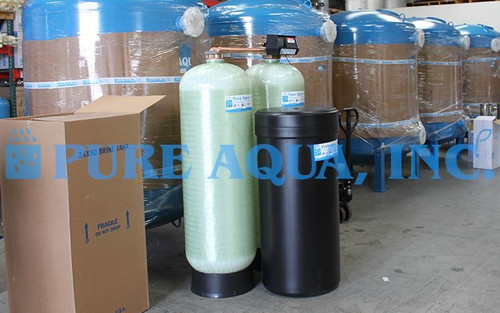 Commercial Water Softening System for Car Wash (Hardness Reduction) USA