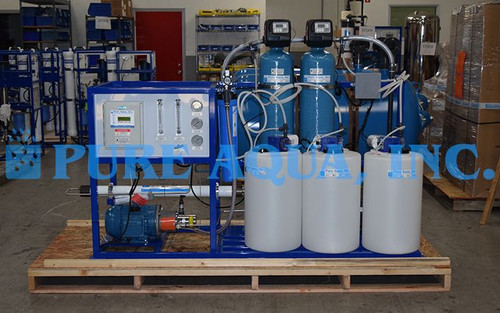 Skid Mounted Seawater Reverse Osmosis System Mexico