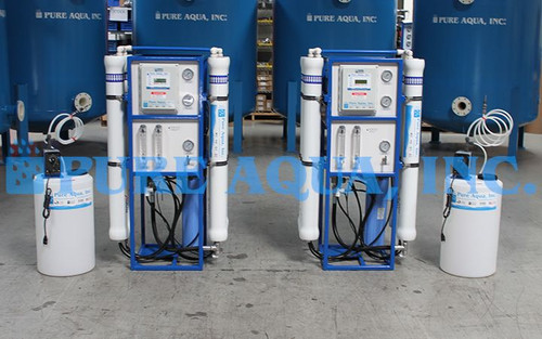 Commercial BWRO Filters 2 x 9,000 GPD - Philippines