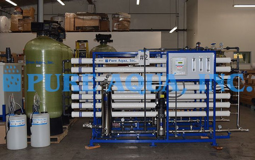 Commercial Reverse Osmosis Plant for Municipal Water Venezuela