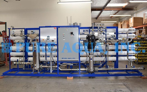 Reverse Osmosis Brackish Water Treatment for Cosmetics USA