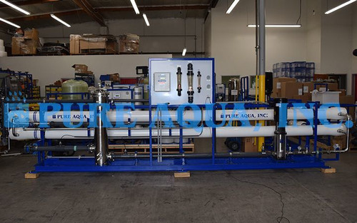 Industrial Tap Water Reverse Osmosis System for Boiler Feed USA