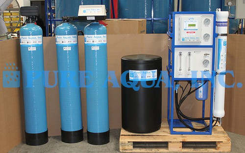 Commercial Reverse Osmosis Machine for Car Wash (Calcium/Magnesium Reduction) USA