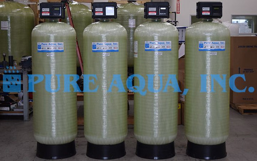 Green Sand Media Filters for Iron & Manganese Reduction Chile