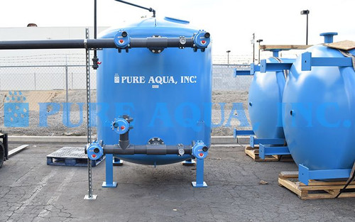 Industrial Multi Media Filtration Systems 250 GPM - Mexico