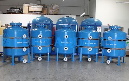 Anthracite Media Filters 5 x 100 GPM - Saudia Arabia