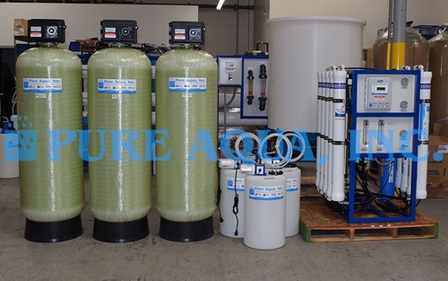 Commercial Reverse Osmosis Purifier for Hotel Ghana