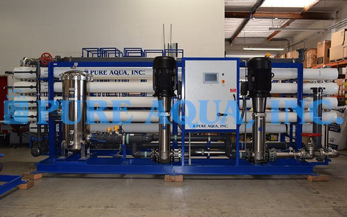 Industrial Brackish Water Treatment for Power Plant Iraq