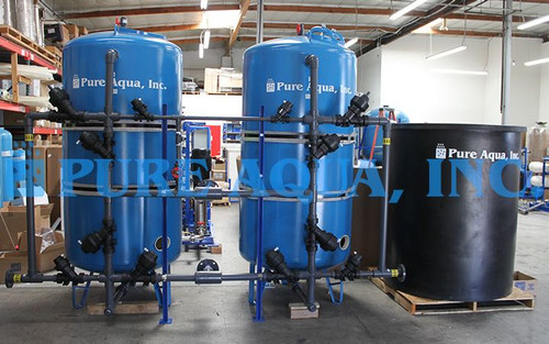 Twin Alternating Softening System 65 GPM - Kuwait
