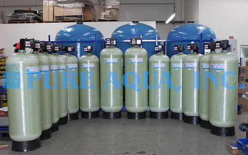 Portable Water Filters 11 x 24 GPM - Kuwait