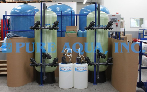 Media Filtration Systems for Greywater Treatment 40,000 GPD - Oman