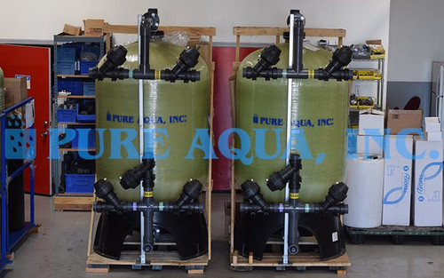 Seawater Multimedia Filters 2 x 50 GPM - Mexico
