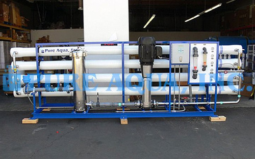 Industrial Brackish Water Reverse Osmosis Unit USA
