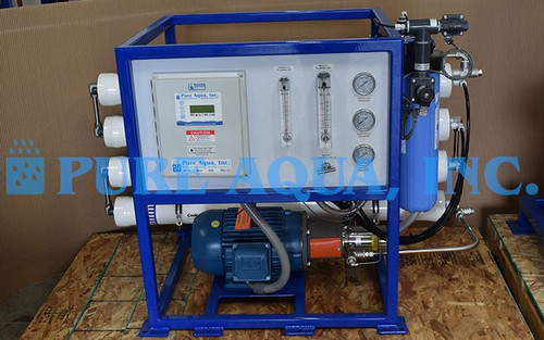 Commercial Seawater RO Unit Bermuda