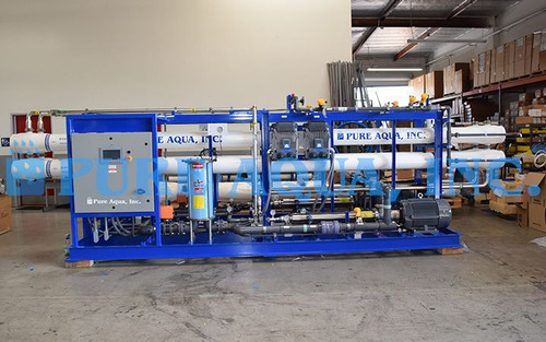 Twin Alternating Seawater System with Common Pre Treatment Belize