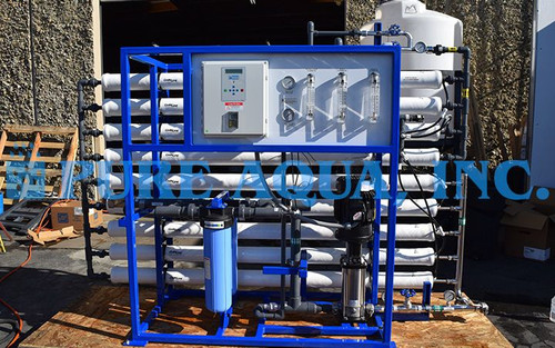 Double Pass Reverse Osmosis System for Boiler Feed USA