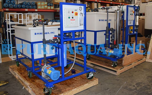 Mobile RO Membrane Cleaning Station Israel