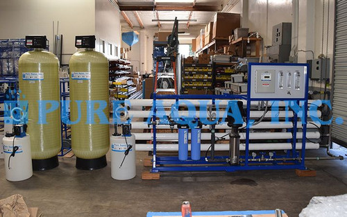 Commercial Reverse Osmosis System for Agriculture 22,000 GPD - Ecuador