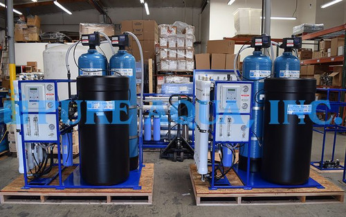 Commercial Reverse Osmosis Units for Chloride Reduction USA