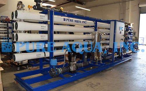 Industrial Reverse Osmosis System for Boiler Feed Guatemala