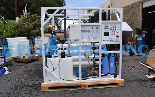 Commercial Offshore Seawater Reverse Osmosis Package Malaysia