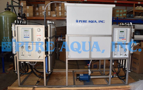 Double Pass RO System for Pharmaceutical Application Bolivia