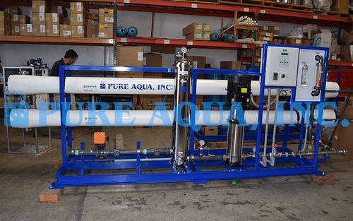 Industrial Brackish Reverse Osmosis Assembly for Drinking Sri Lanka