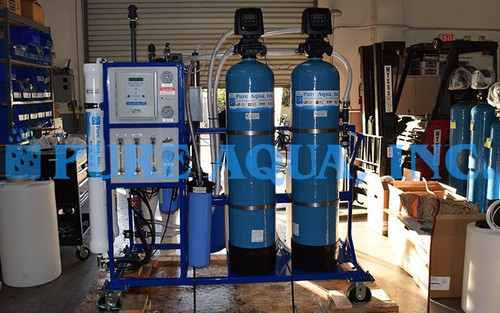 Reverse Osmosis System and Deionizing Ion Exchange System El Salvador