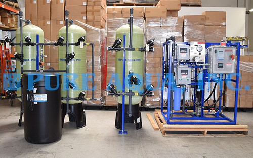 Explosion Proof Tap Water Reverse Osmosis System USA