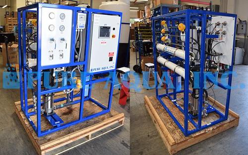 Pilot Reverse Osmosis System for Antiscalant Testing USA