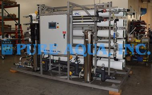 Industrial Reverse Osmosis Units for Resort Guinea