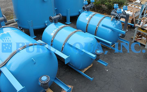 Industrial Birm Media Filter for Iron Reduction 2 x 196 GPM - Lebanon