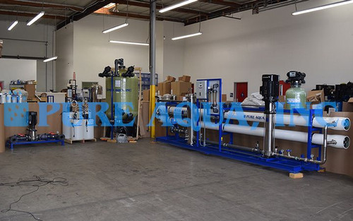 Industrial Reverse Osmosis Machine for Water Bottling Algeria