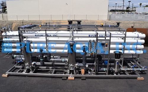 Industrial Reverse Osmosis Plant to Treat Reclaimed Waste Water Egypt