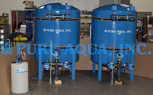 Industrial Filtration System for Iron Reduction 120 GPM - Peru