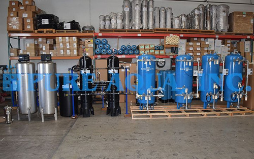 Commercial Filtration System 2X 35 GPM - Kuwait