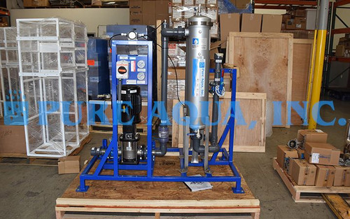 Surface Water Filtration System 50 GPM - Belize