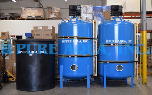 Twin Alternating Water Softener South Korea