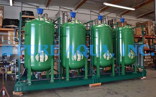 Skid Mounted Quadruplex Filtration System 300 GPM - Kansas, USA