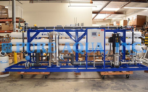 Brackish Water Reverse Osmosis Plant for Beverages 260,000 GPD - Nicaragua