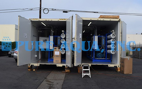 Containerized Industrial Desalination Plants for Drinking Water Venezuela