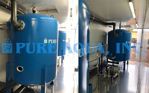 Containerized Water Filtration Equipment for Surface Water 240 GPM - Florida, USA