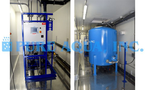 Containerized Multi Layer Filtration for Recycling Water - 240 GPM - USA