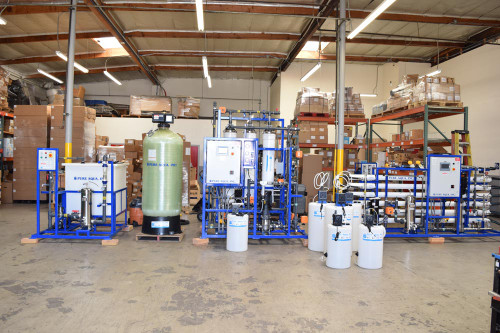 Water Recycling System for Hydroponics Farms - 15 GPM - USA