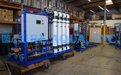 Ultrafiltration System for Bottling Plant Ghana