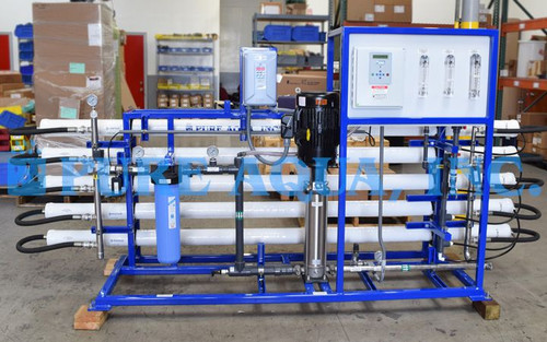 RO System with Pretreatment and Membrane Cleaning Skid for Industrial Laundry Service Saipan