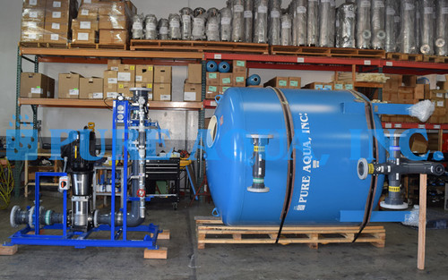 Surface Water Filtration System for Lagoon Water 240 GPM - USA